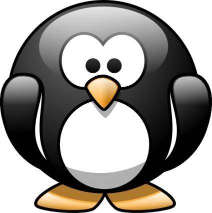 free vector Cartoon Penguin clip art