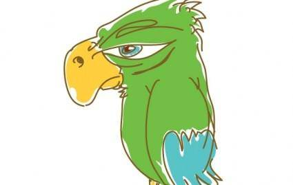 free vector Parrot