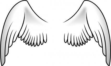 free vector Wings clip art