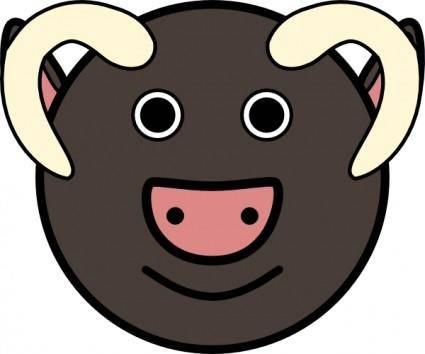 free vector Ox clip art