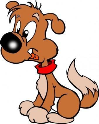 Puppy Cartoon clip art
