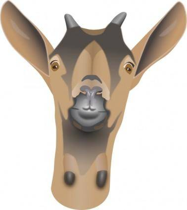 Goat Head clip art