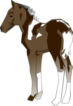 free vector Pony clip art