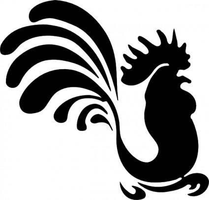 Coq clip art