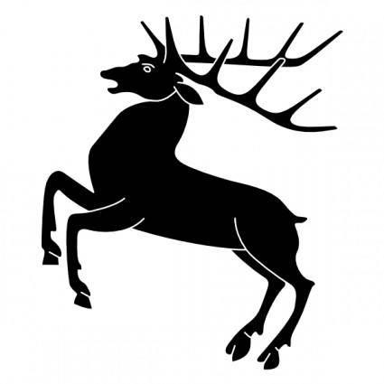 Wipp Hirzel Coat Of Arms clip art