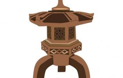 free vector Pagoda