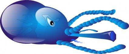 free vector Squid clip art