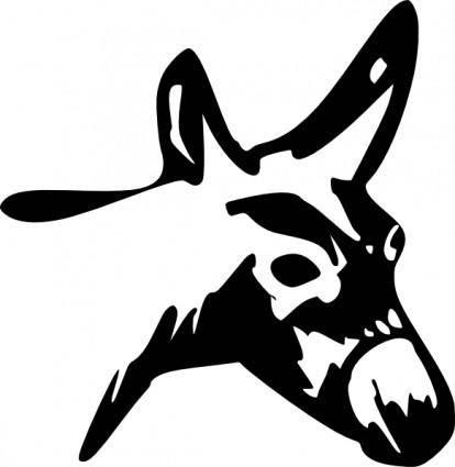 free vector Mule clip art