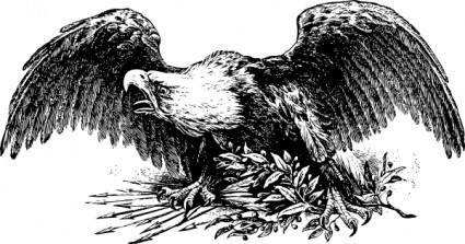 free vector War Eagle clip art