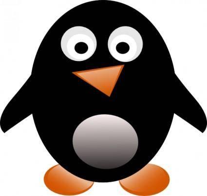 free vector Jesusfreak Penguin clip art