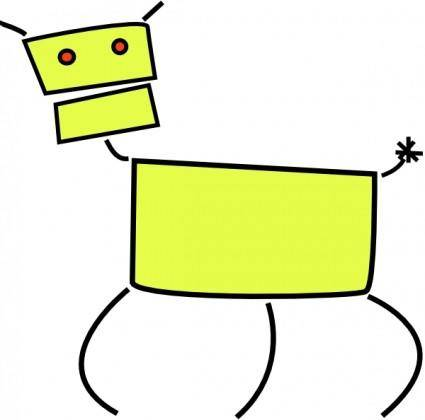 Dog clip art 118795