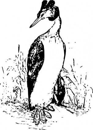 The Grebe clip art