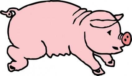 free vector Piggie Pig clip art