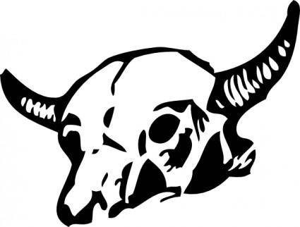 free vector Cow Skull clip art
