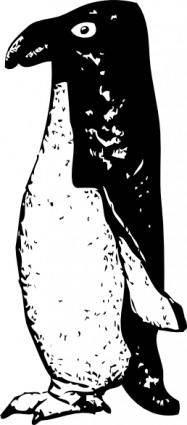 free vector Funky Penguin clip art