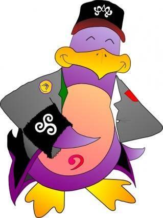 Arsenyk Pingouin Gadzarts clip art