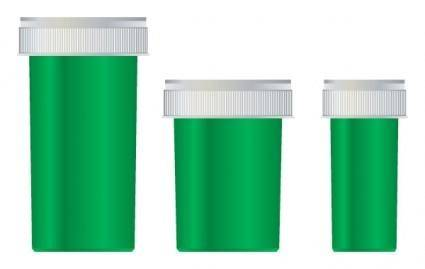 free vector Medical Jar