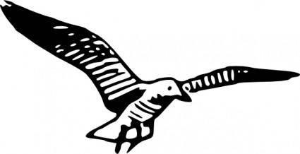 free vector Herring Gull Simple clip art