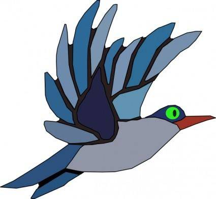 free vector Ptak Bird clip art