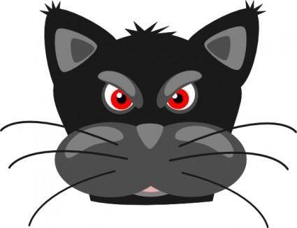 Peterm Angry Black Panther clip art