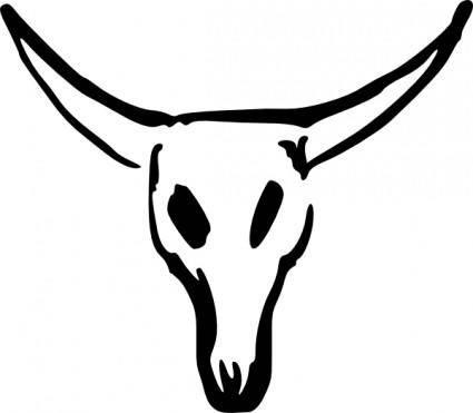 Valessiobrito Cow Skull clip art