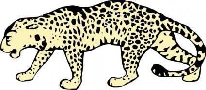 Leopard clip art