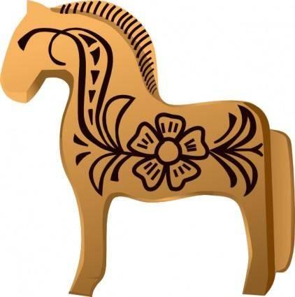 Fjord Horse Aitor Avila clip art