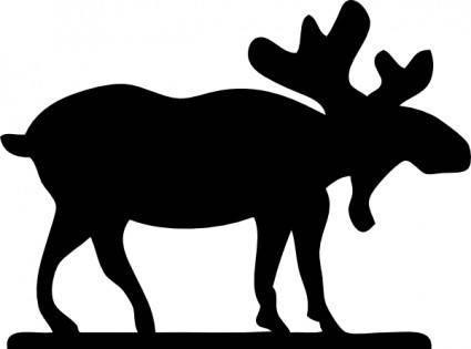 Moose Sihouette clip art