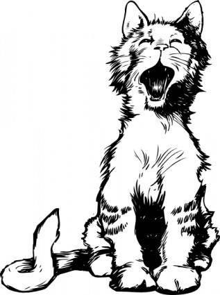 Cat S Meow clip art