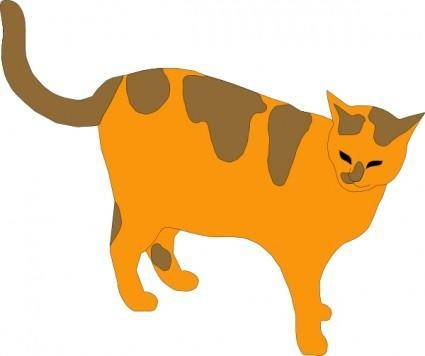 free vector Pussy Cat clip art