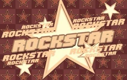 free vector Rock Star Vector Graphic