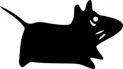Mouse-xfce clip art
