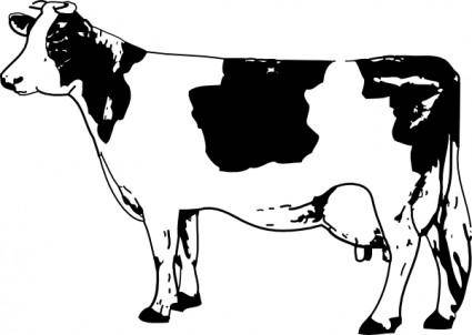 free vector Cow clip art