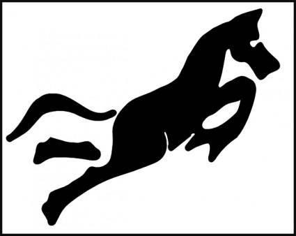 Cheval clip art