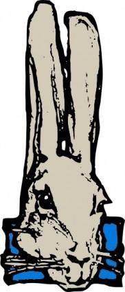 free vector Rabbit Head clip art