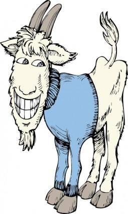 Goat In A Sweater clip art