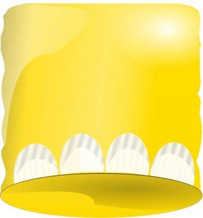 Vanilla Soft Serve Ice Cream Cone clip art Free Vector ...