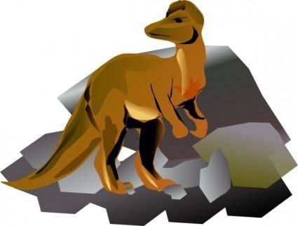Corythosaurus clip art