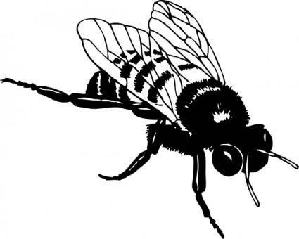 free vector Bumble Bee clip art