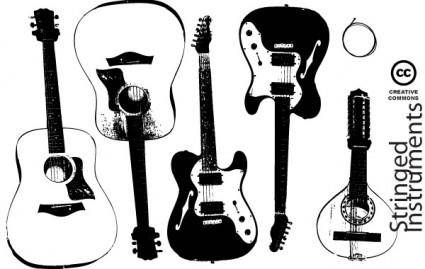 free vector Stringed Insturment Vectors