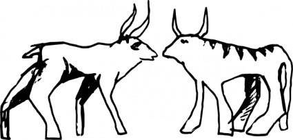 Fantasy Animals clip art