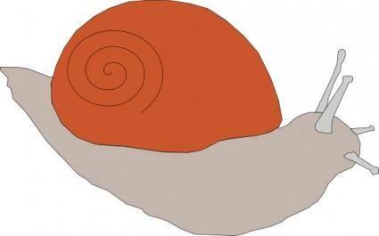 free vector Snail clip art