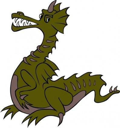 Green Dragon clip art