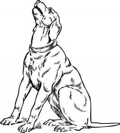 Barking Dog clip art
