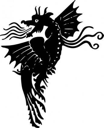 free vector Dragon clip art