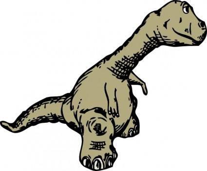 Dinosaur Sideview clip art