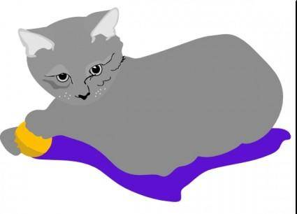 Gattina Cat clip art