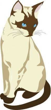 free vector Gatto Cat clip art