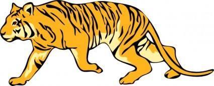 Tigre05 clip art