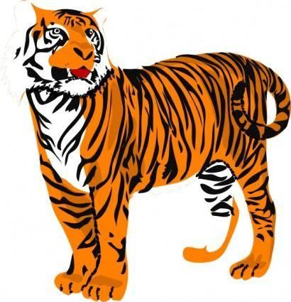 Tigre04 clip art